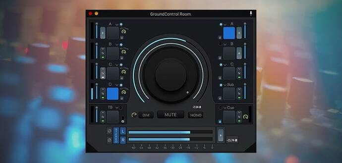 GroundControl Room by Ginger Audio