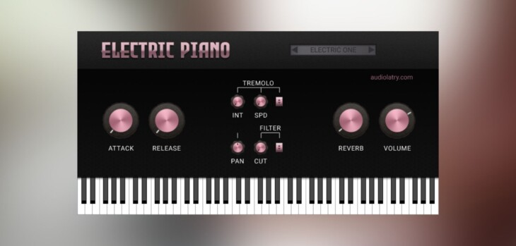 Audiolatry Releases FREE Electric Piano Plugin