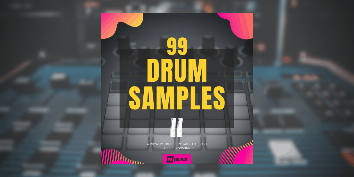 99 Drum Samples II by 99Sounds